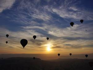 Dawn Balloon Flight