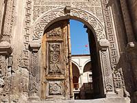 Traditional door in Mustafapasa (Sinassos)